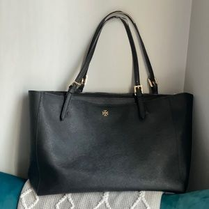 Tory Burch Large Black Emerson Tote